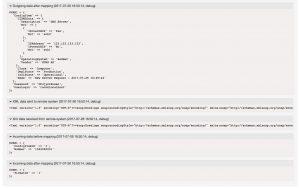 CMDBConnector Debugger Output