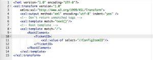 CMDBConnector Inbound Mapping
