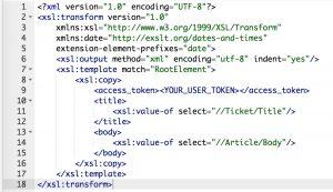 GitHubConnector IssueCreate OutgoingXSLT