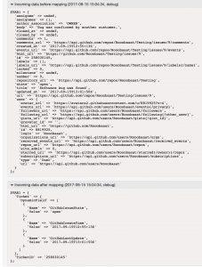 GitHubConnector IssueGet Debugger 3
