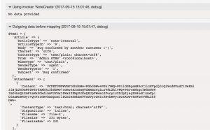 GitHubConnector NoteCreate Debugger 1