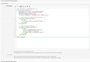 New XSLT-Editor in OTRS 6