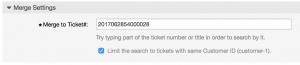 OTRS 6 autocomplete ticket merge 2