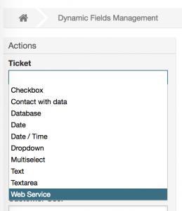 DynamicFieldWebservice General Configuration